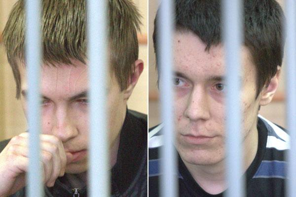Артем Ануфриев (слева) и Никита Лыткин
