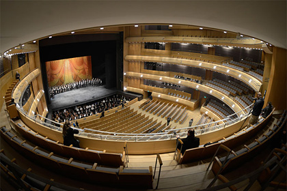 diamond schmitt architects: mariinsky theater II, st.petersburg.