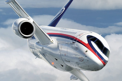 The Sukhoi Superjet 100 passenger jet is attempting to counter like-minded aircraft currently controlling the...