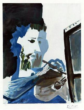 Пабло Пикассо, «Художник»