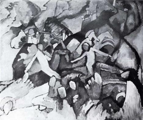 Василий Кандинский, «Композиция I»