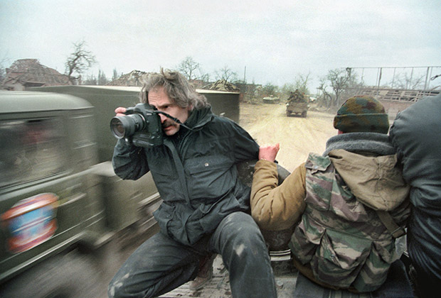 Александр Земляниченко в Чечне, 2000 год