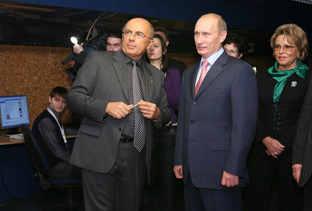 Александр Запесоцкий, Владимир Путин и Валентина Матвиенко