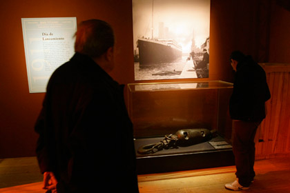 Выставка Titanic: The Artifact Exhibition
