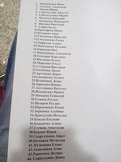 Список погибших пассажиров