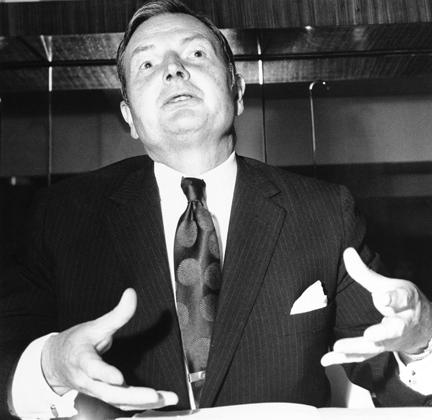 Дэвид Рокфеллер, 1972 год