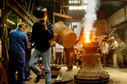 Производство колоколов Whitechapel Bell Foundry