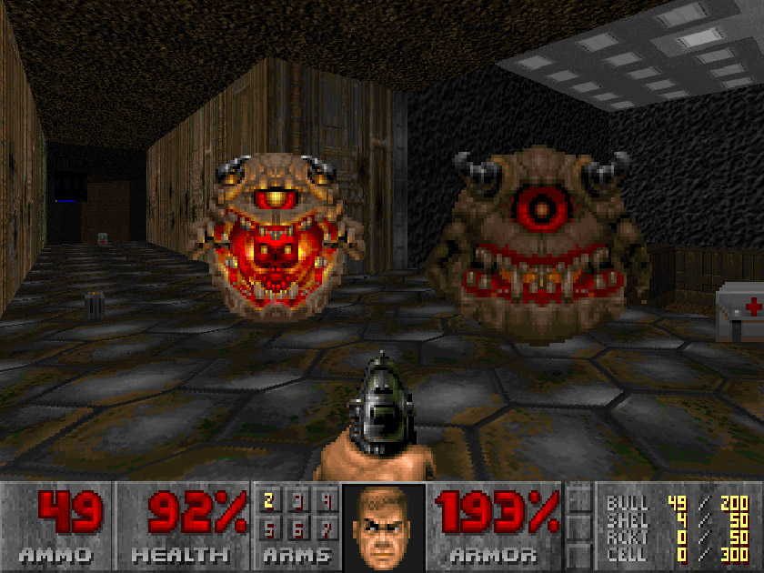 Doom 2 screenshot