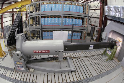 Railgun Prototype BAE Systems