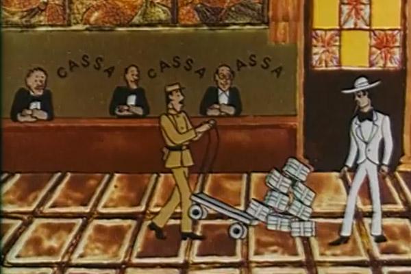 из мультфильма «Ограбление