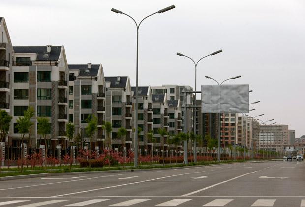 Порожнє місто Ордос, Китай