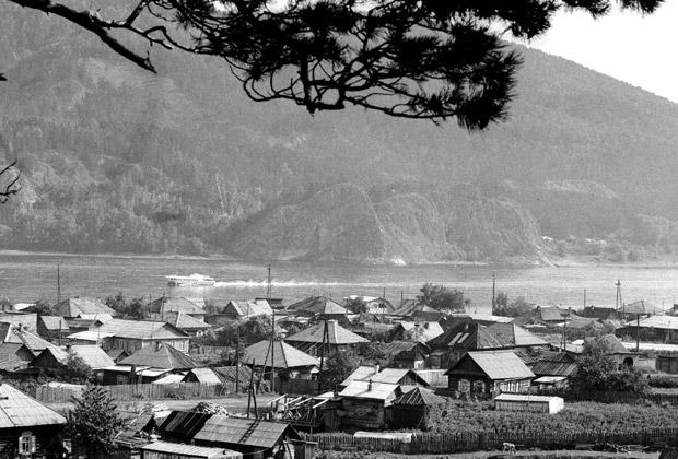 Село Овсянка в Красноярском крае, лето 1988 года