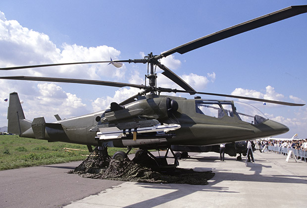 In the development of the electronics modified Ka-50-2 «Erdogan» Israeli experts participated.
