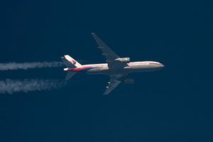 На границе России с Украиной упал малазийский Boeing