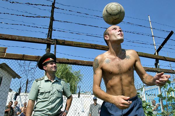 Тюрьма Волноваха, 55 км от Донецка, 2006 год