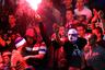 Сербские футбольные фанаты, 14 октября 2014 года