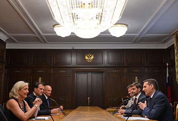 «Национальный фронт» налаживает контакты с депутатами Госдумы