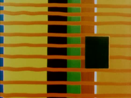 Кадр из фильма Оскара Фишингера Color Rhythm, 1942 год