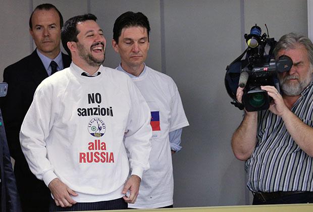 Маттео Сальвини пришел на заседание российской Госдумы