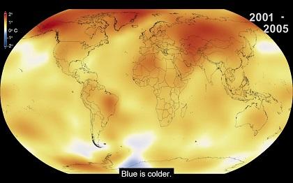 Прошедший год стал рекордно теплым на Земле