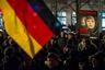 Митинг организации LEGIDA — клона PEGIDA из Лейпцига. 21 января 2015