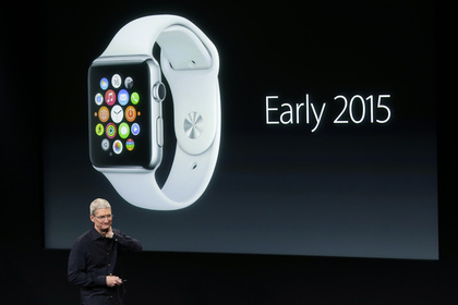 Том Кук презентует Apple Watch