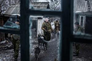 Ополченцы ДНР в Дебальцево 28 января 2015 года