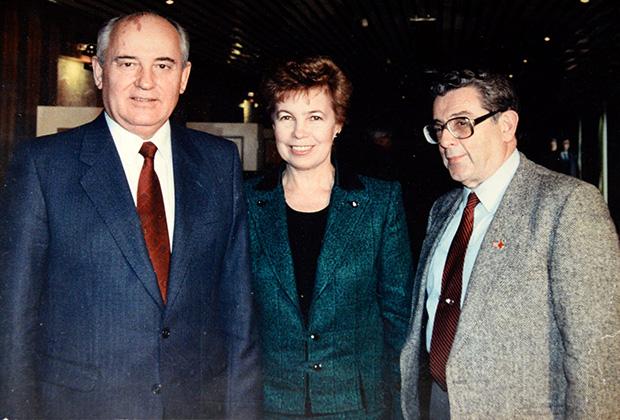 В.С. Зорин и Л.И.Брежнев