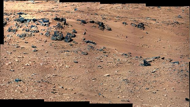 Марсианский ландшафт