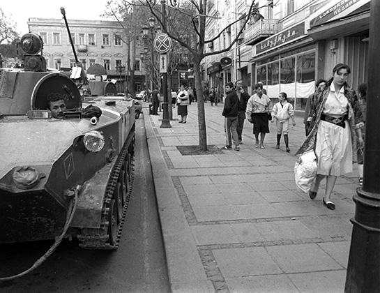 Ввод танков в Тбилиси, апрель 1989 года