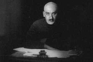 Генрих Ягода в своем кабинете