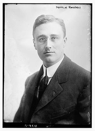 Франклин Рузвельт, 1900 год