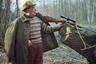 Леонид Брежнев на охоте в Залесье