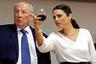 Аелит Шакед и генеральный прокурор Израиля Иегуда Вайнштейн