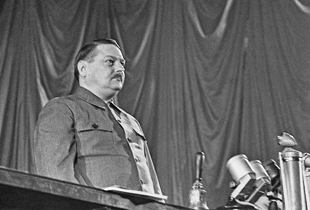 Секретарь Центрального Комитета Всесоюзной Коммунистической Партии (большевиков) Андрей Жданов