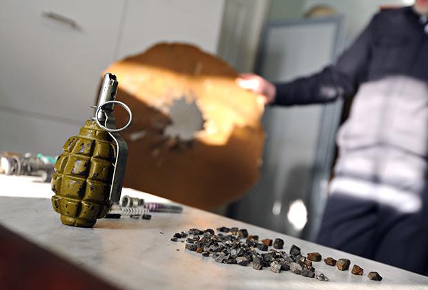Ручная противопехотная оборонительная граната Ф-1