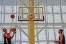 Тренировка мужской сборной России по баскетболу