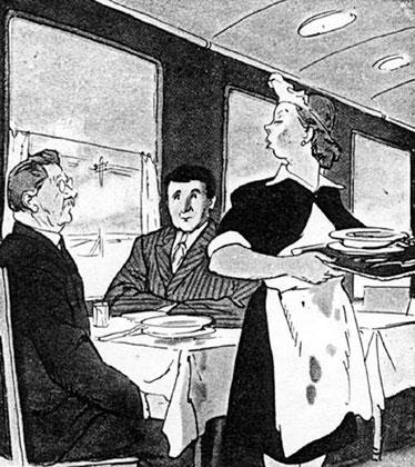 Карикатура, 1950 год