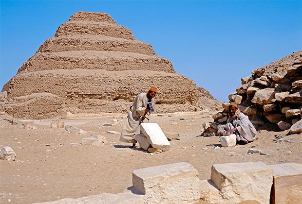 Пирамида фараона Джосера
