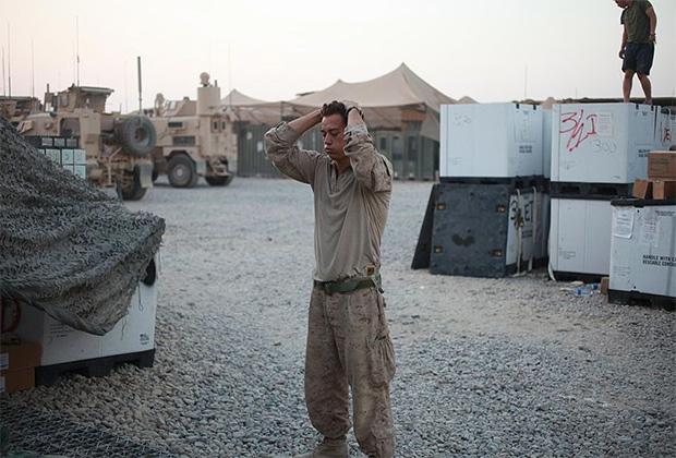 Передовая оперативная база «Дели», где был убит Бакли