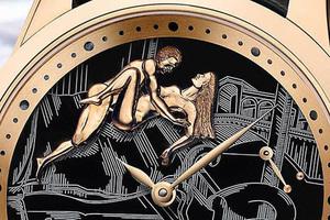 часы Hourstriker Erotica Jarretière, Ulysse Nardin
