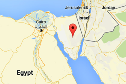 На Синайском полуострове в Египте нашли обломки российского самолета
