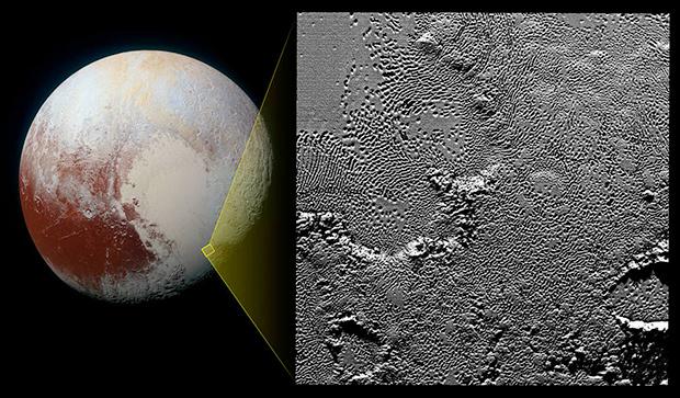 Расположение фрагмента региона Томбо на Плутоне