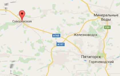 На Ставрополье разбился легкомоторный самолет
