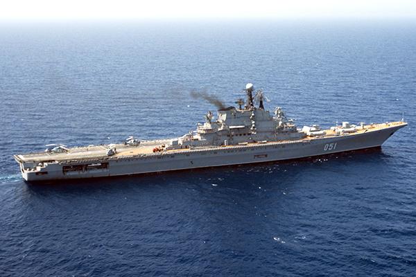 Авианесущий крейсер «Киев», 1987 год