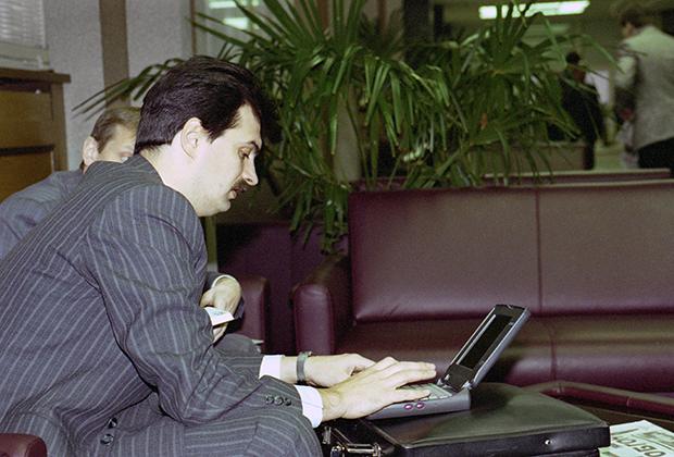 Депутат Государственной думы Российской Федерации Юрий Болдырев, 1995 год