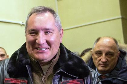 Дмитрий Рогозин (слева)
