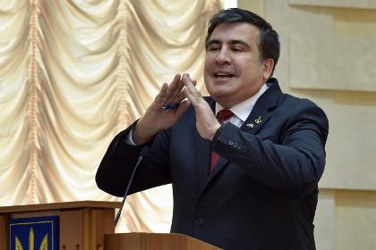 Саакашвили разместил в интернете секретную информацию об украинских силовиках на Донбассе