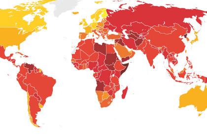 Transparency International констатировала снижение уровня коррупции в России