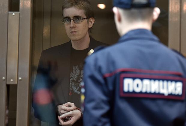 Лидер «Боевой организации русских националистов» Илья Горячев
